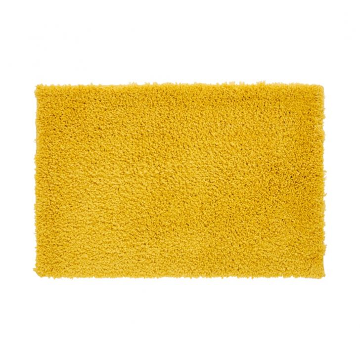 Nora Bath Runner 49X80 CM in Yellow Colour by Living Essence