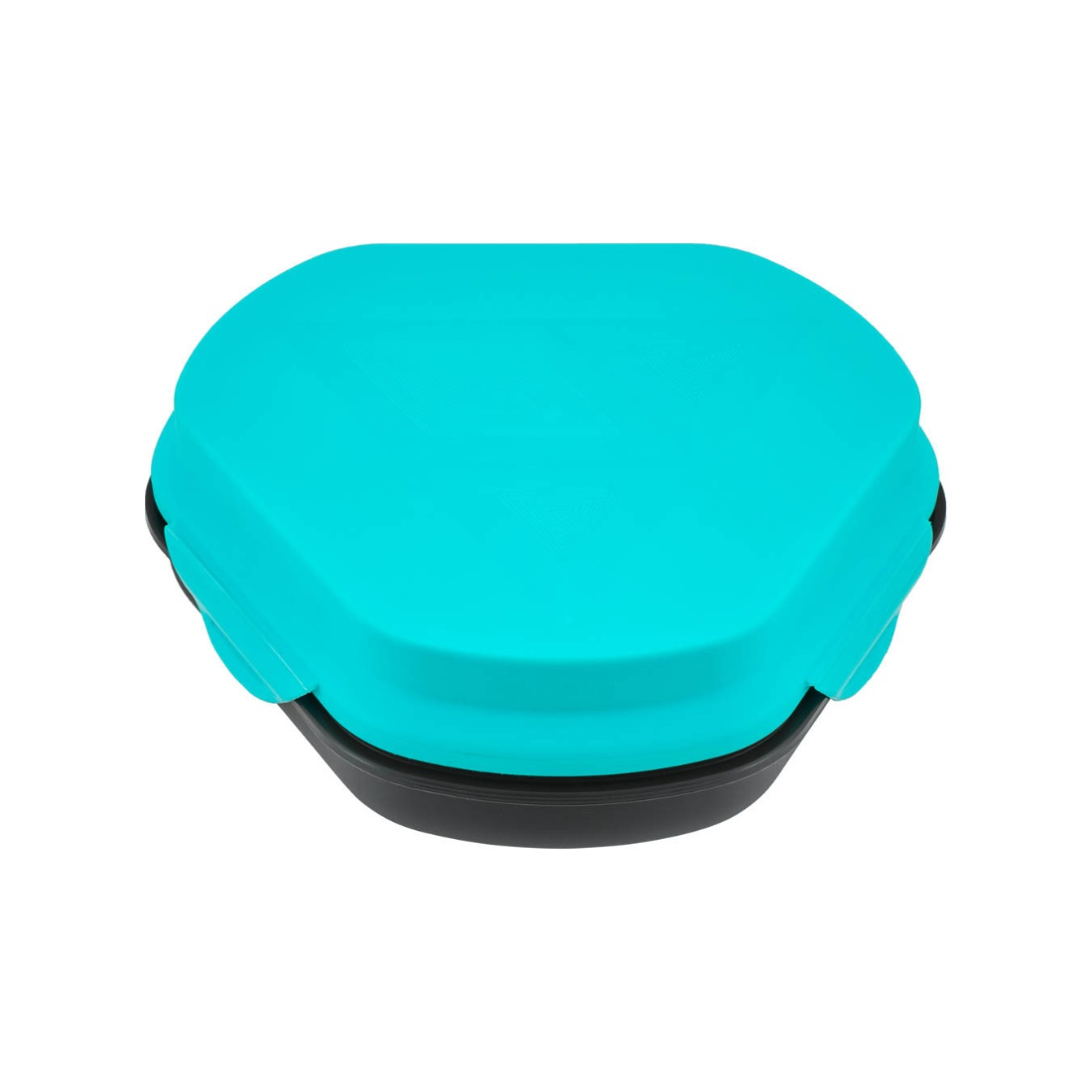 Living Essence Plastic Lunch Boxes in Blue Colour by Living Essence