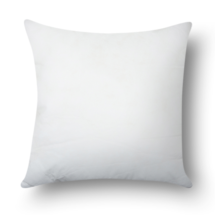 Stylo Solid Non Woven Cushion Filler White Non Woven Cotton Cushion Fillers in White Colour by Living Essence