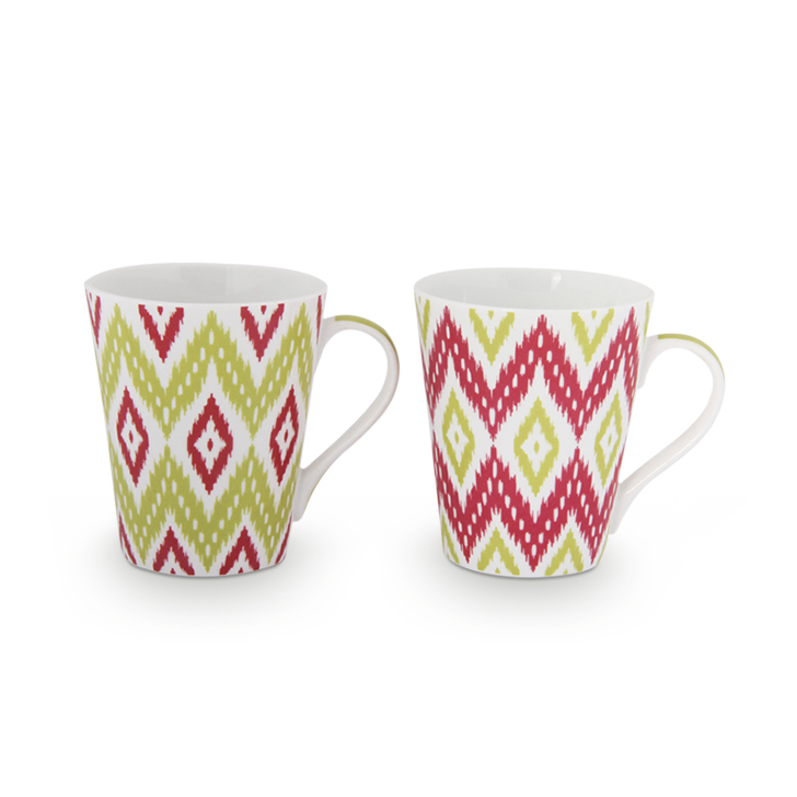 Bone China Coffee Mugs by Living Essence
