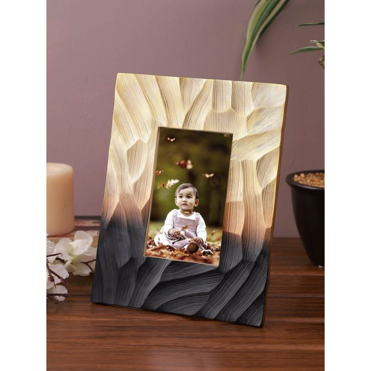 Jashn Metal Photo Frames in Bronze Colour by Living Essence