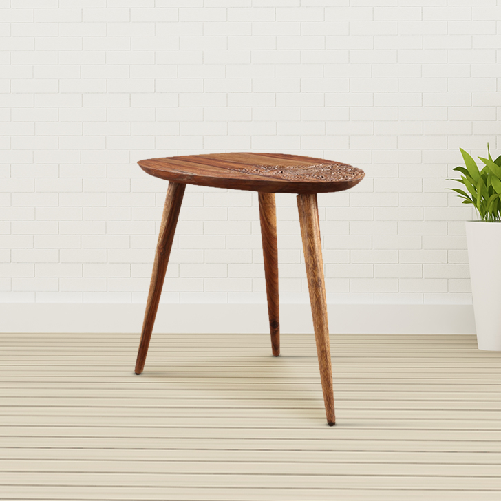 Dorian Solid Wood Outdoor Table in Natural Wood Colour by HomeTown