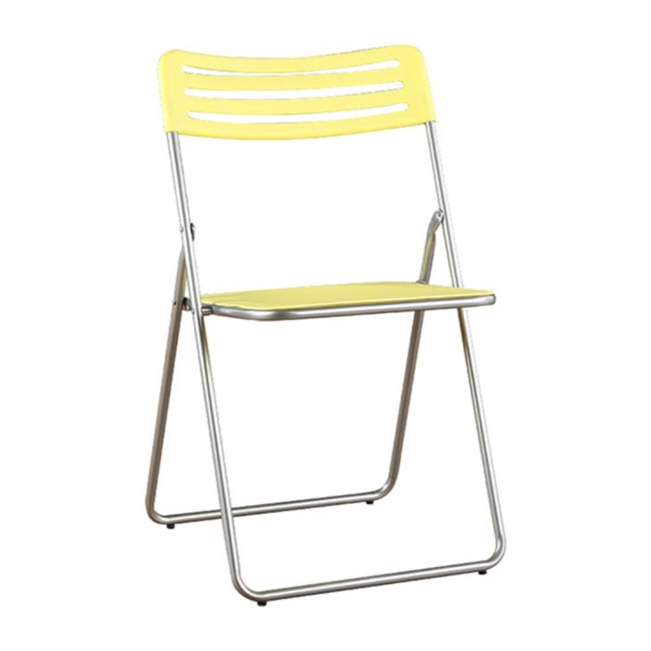 Eames Metal Outdoor Chair in Citron Colour by HomeTown