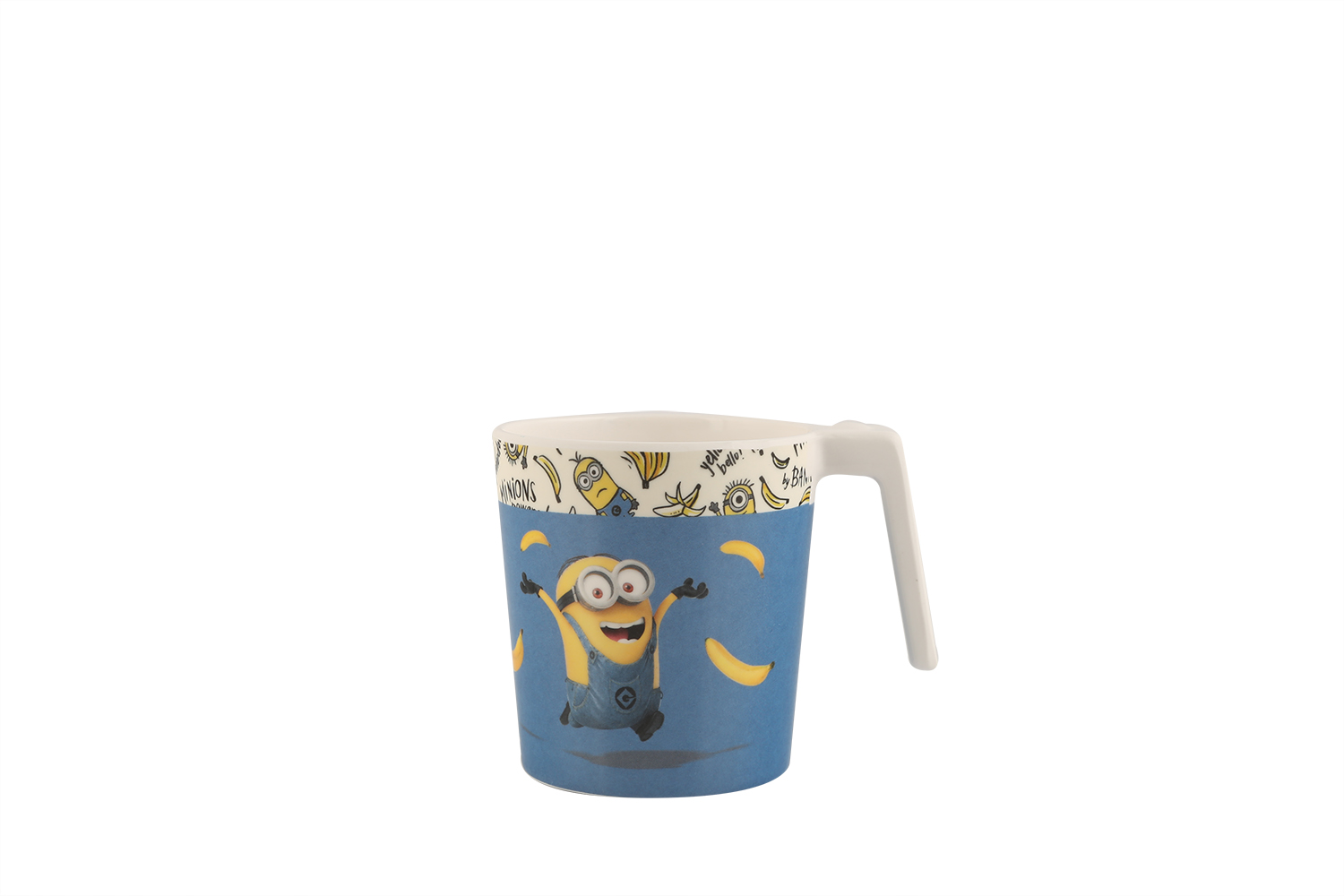 Stackable Mug-L- Minions Glasses & Tumblers in Multicolor Colour by Servewell