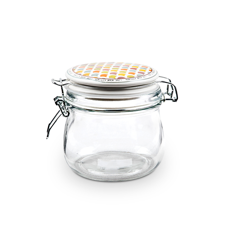 Glass Containers by Living Essence