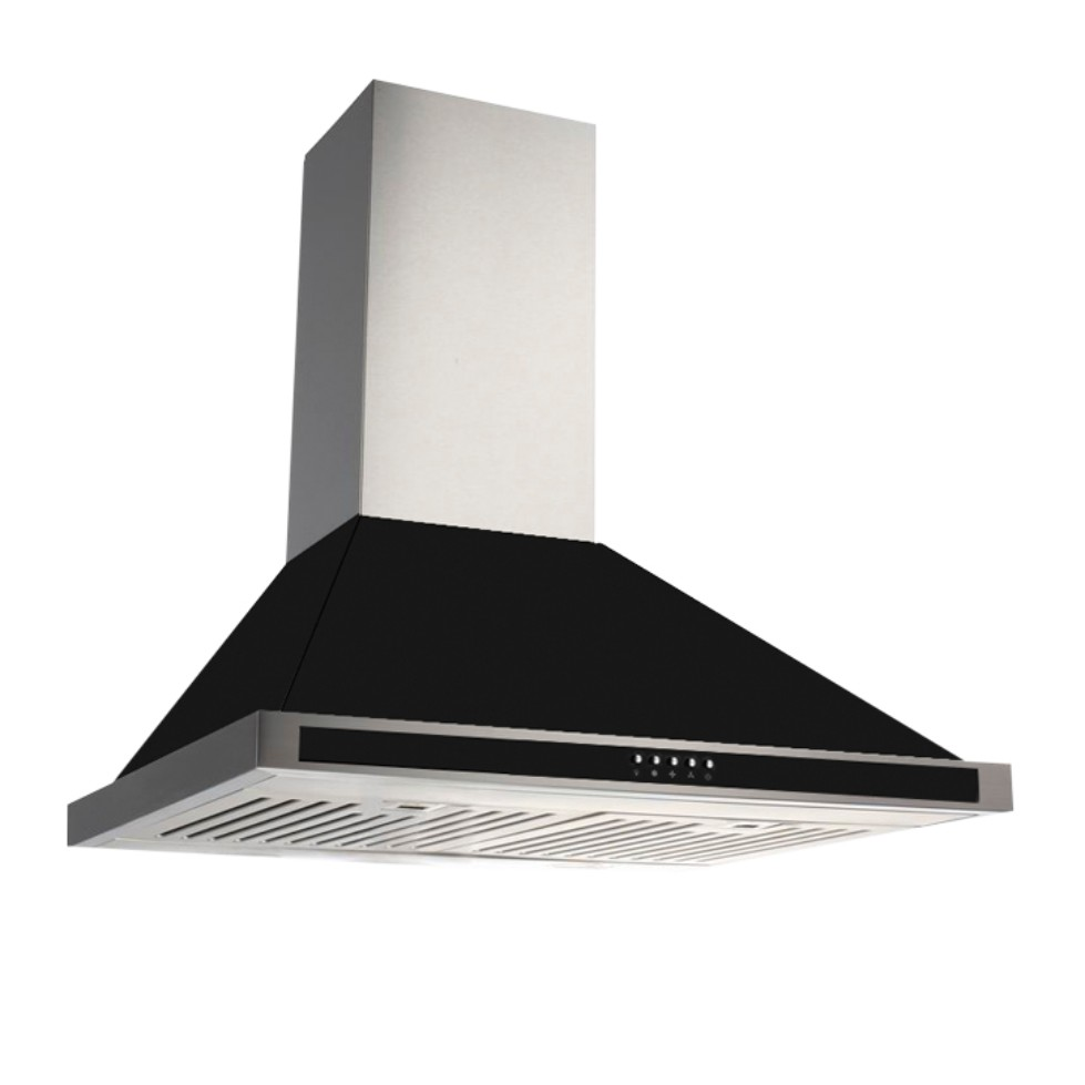 Kaff Stainless steel Chimney Fema Bf 60 Black by Kaff