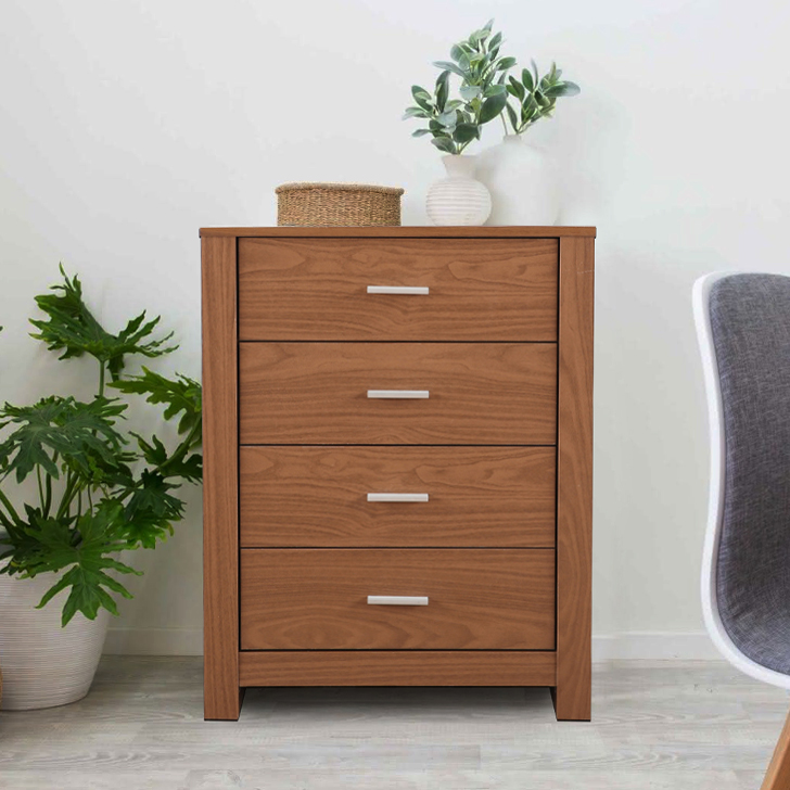 Renley Engineered Wood Multipurpose Cabinet in Walnut Colour by HomeTown