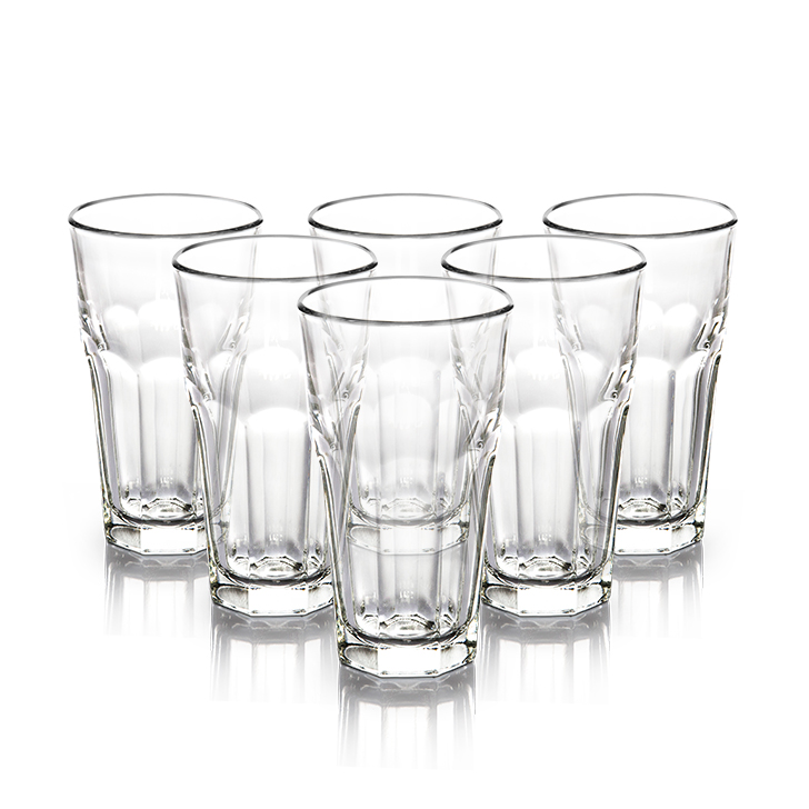 Libbey Dover Water Tumbler 355 ml 6 Pcs Glass Glasses & Tumblers in Transparent Colour by Libbey