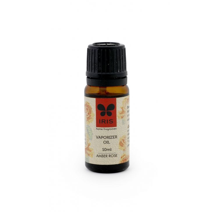 Iris Amber Rose Relaxing, Stress Alleviating Oil Scented Oil in Amber Colour by HomeTown