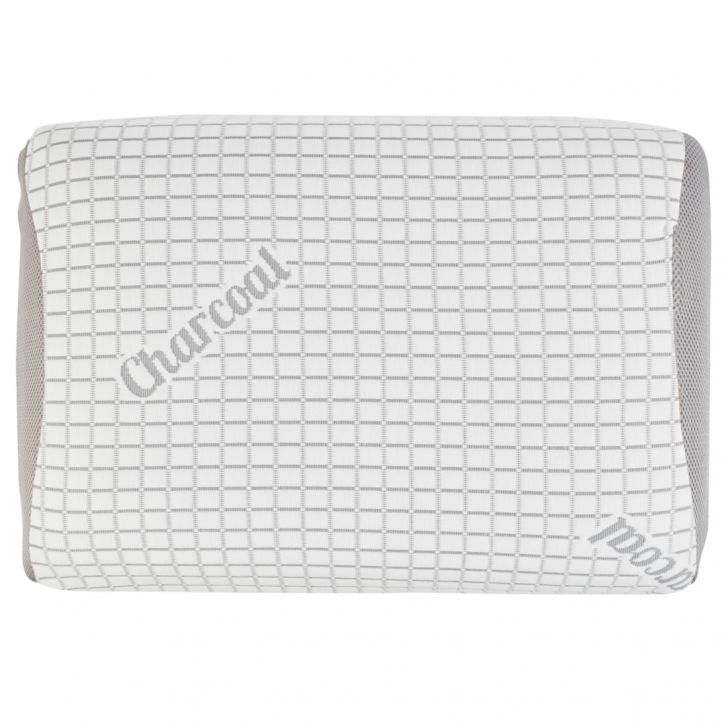 . Memory Foam Memory Foam Pillows in White Colour by Living Essence