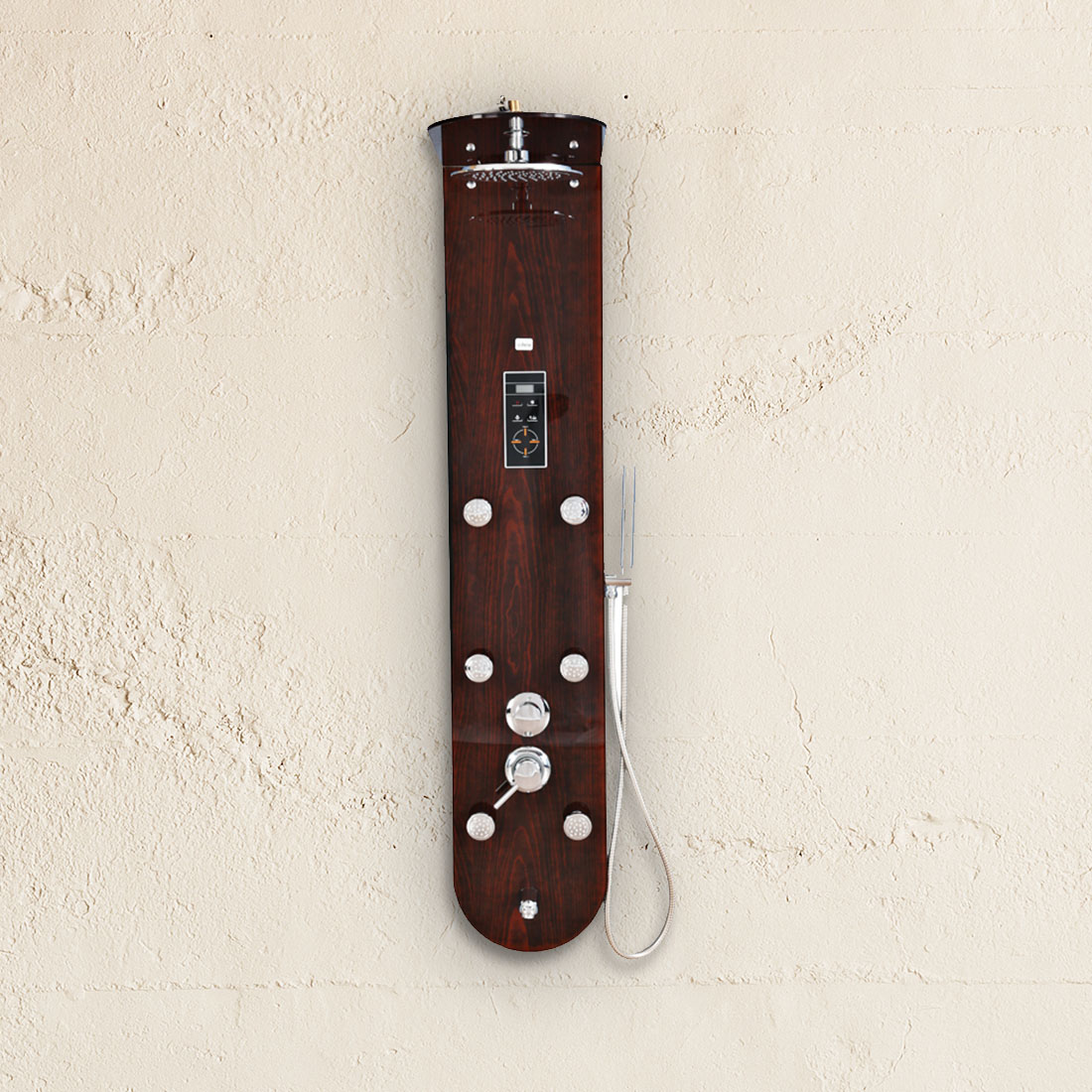 Sylvia Glass Shower Multifunctions in Brown Colour by HomeTown