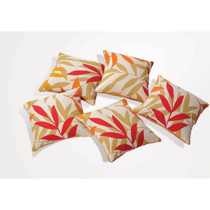 Solid Cushion Cover 24 In Yellow Color By Swayam