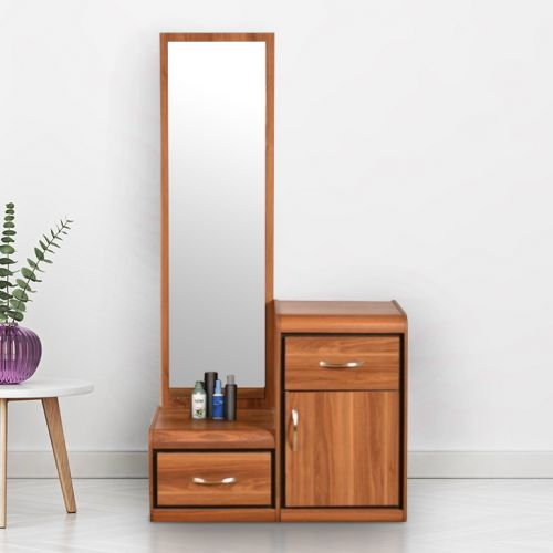 Buy Archer Engineered Wood Dressing Table In Wenge Colour By