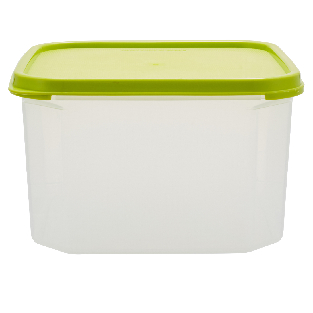 Kitchen Modular Square 2.8 Ltr Green Plastic Containers in Green Colour by Living Essence