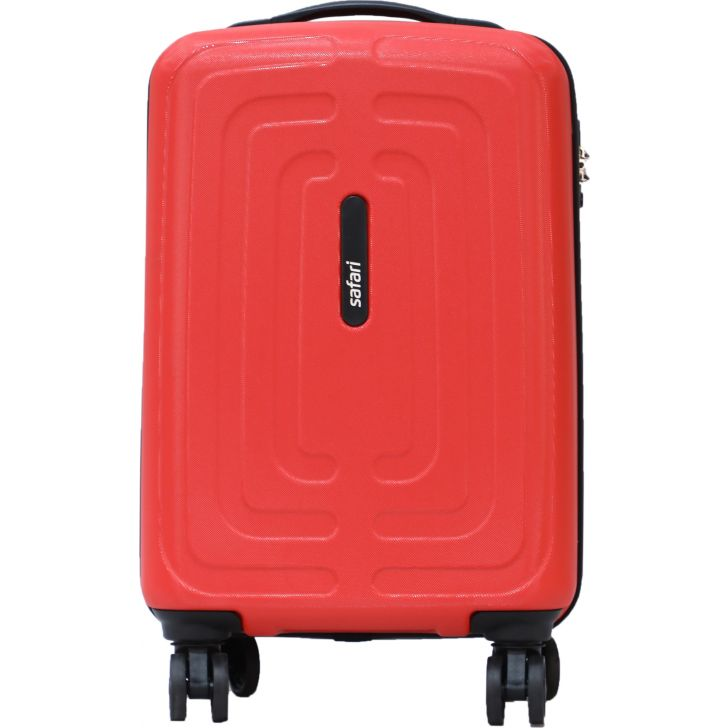 Safari Amaze 55 cm Polycarbonate Soft Trolley in Red Colour by SAFARI