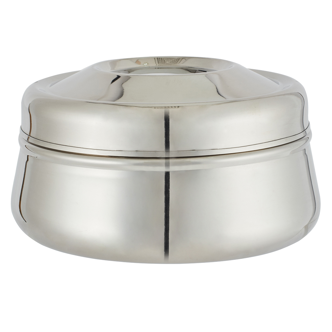 Cosmos Dabba Stainless steel Containers in Silver Colour by Living Essence