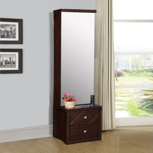 87508daab Buy Starlight Engineered Wood Dressing Table in Walnut Colour by HomeTown  Online at Best Price - HomeTown.in
