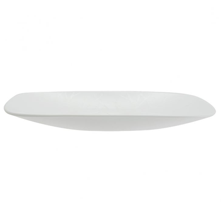 Corelle Frost Dinner Plate Vitrelle Plates in White Colour by Corelle