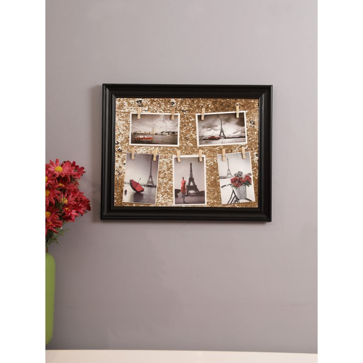 Theo Polyester Photo Frame 50 x 39cm in Black Colour by HomeTown