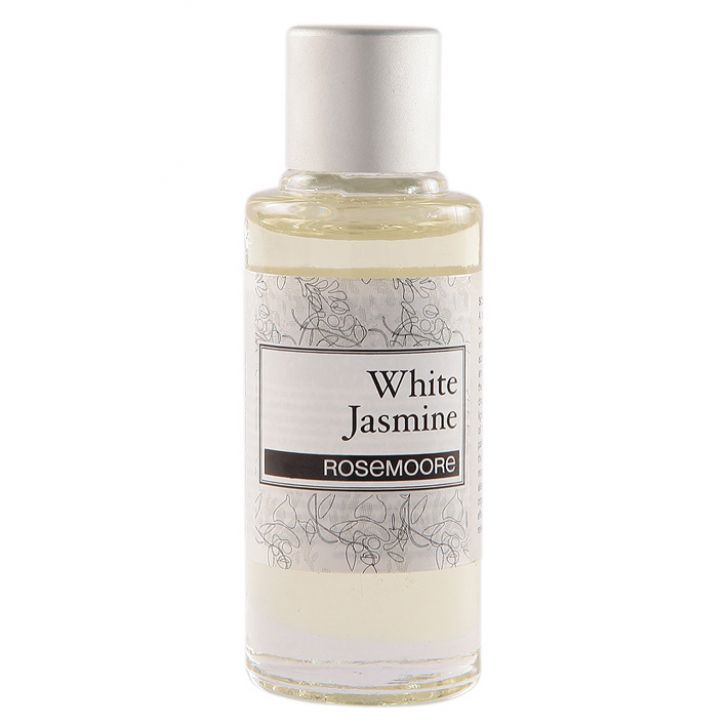 Rosemoore Scented Home Fragrance Oil White Jasmine White Jasmine Home Fragrances in White Colour by Rosemoore