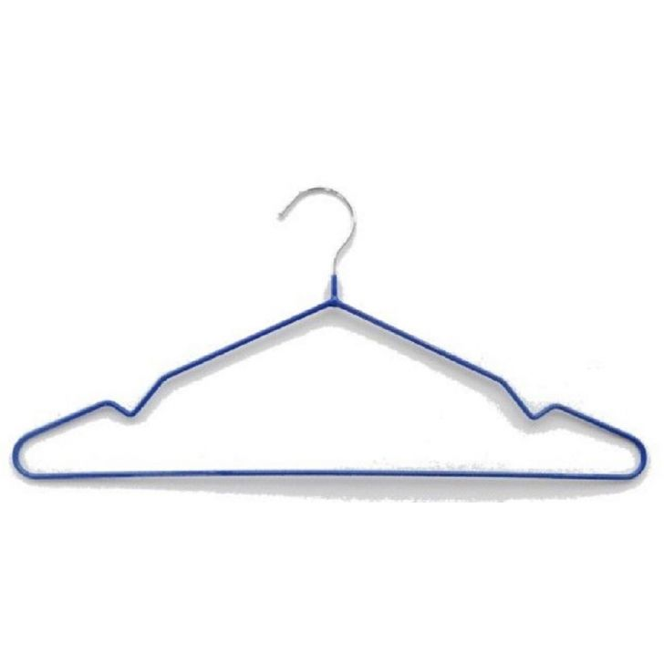 Bonita PVC Coated Metal Hangers & Hooks in Blue Colour by Bonita