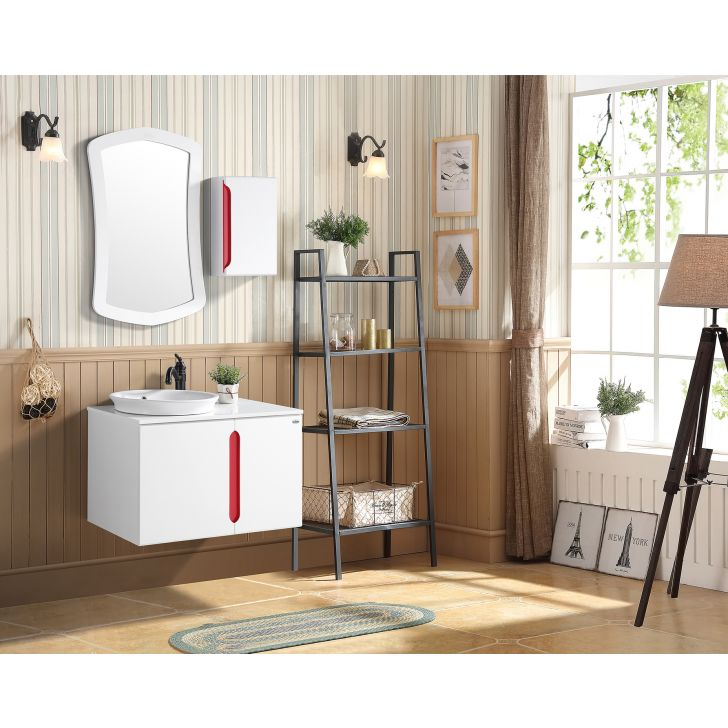 Carron Bath Vanity in White Colour by HomeTown