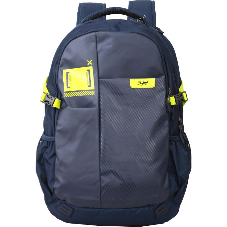 Xylo Polyester Laptop Backpack in Blue Colour by Skybags