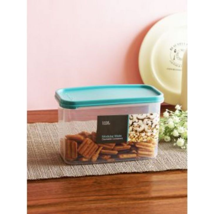 Modular Mate Stackable Plastic Container 1500 Ml by Living Essence