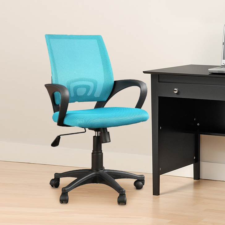 Regal Nylon Office Chair in Blue Colour by HomeTown