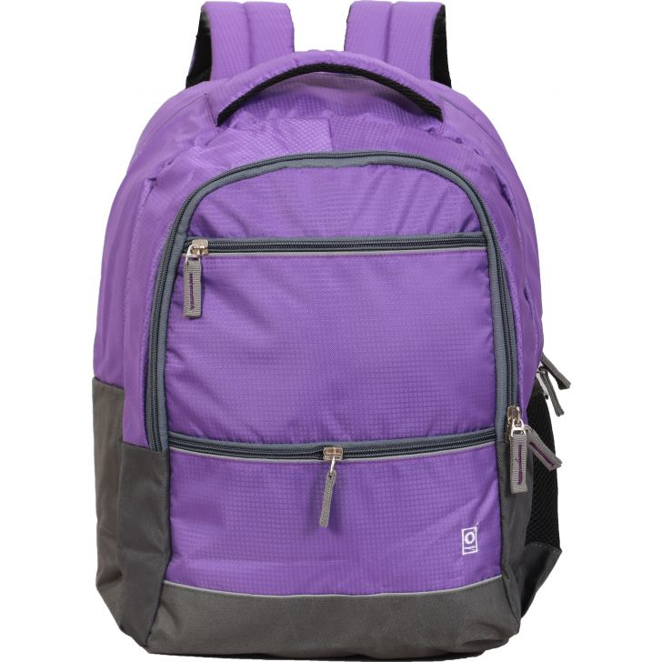 Milestone Galaxy Laptop Backpack (Purple)