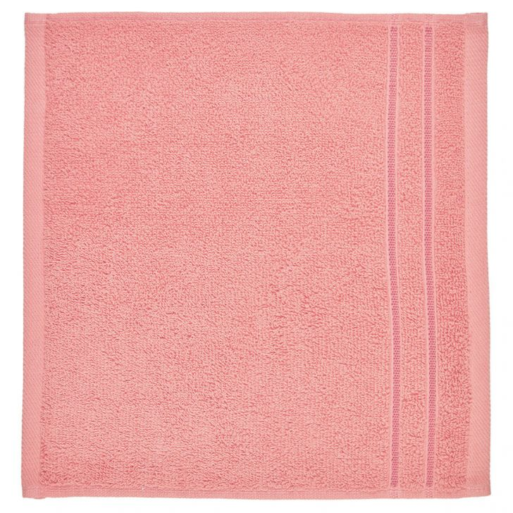 Face Towel Nora Rose Cotton Face Towels in Cotton Colour by Living Essence