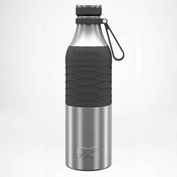 Burell Stainless steel Insulated Bottle 750 ml in Grey Colour