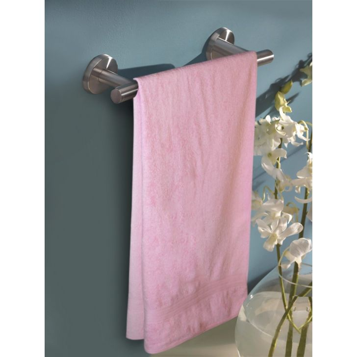 Portico New York Eva Hand Towel 60 cms x 40 cms in Rose Pink Color by Portico