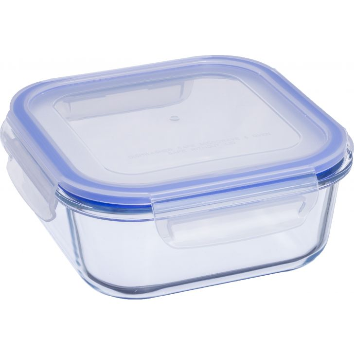 Lock & Lock Glass Square Container 1.3 Ltr by Sanjeev Kapoor