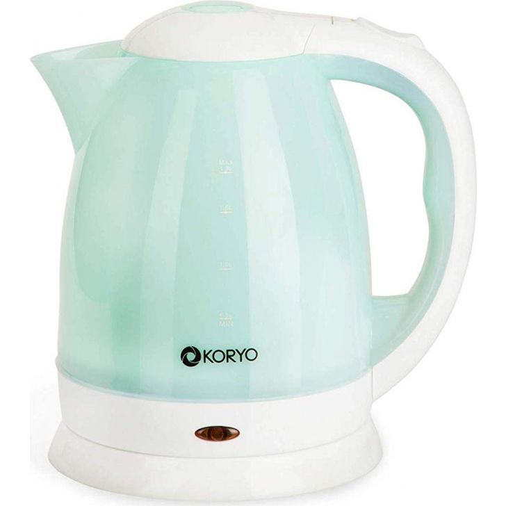 Electric Kettle (1500W) - 1.8 Litres - Blue by Koryo