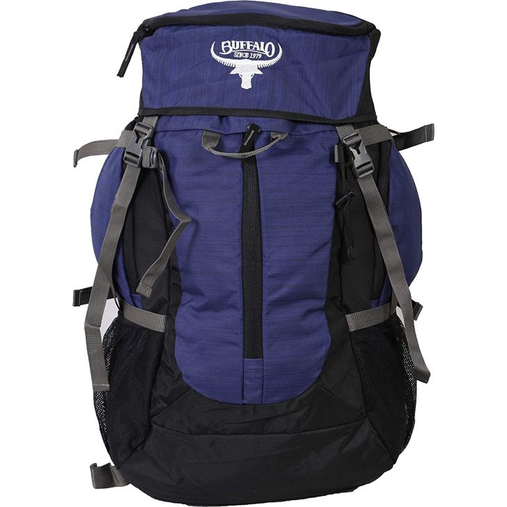 Whooper Polyester Rucksack in Blue Colour by Buffalo