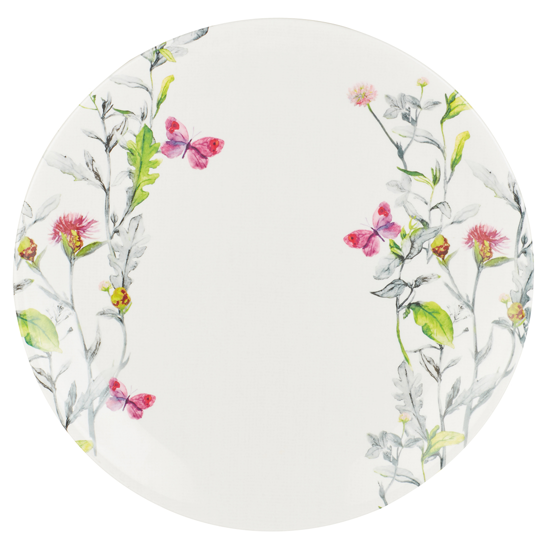 Aster Buffet Plate Plates in Multicolour Colour by Living Essence