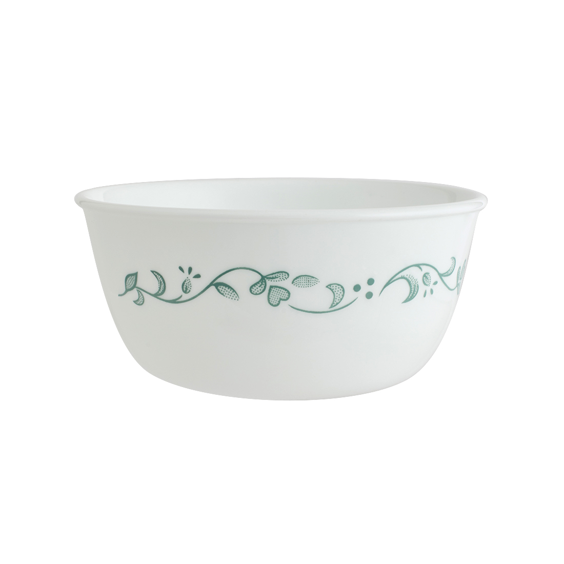 Corelle Country Cottage Curry Bowl Vitrelle Soup Bowls in White & Multicolour Decal Colour by Corelle