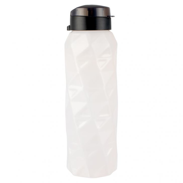Shades Plastic Bottles Set Of 4 1 Ltr in Peach Colour by Living Essence