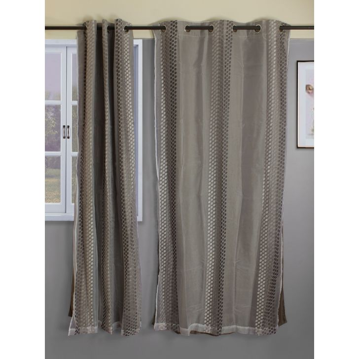 check MRP of double colour curtains Living Essence