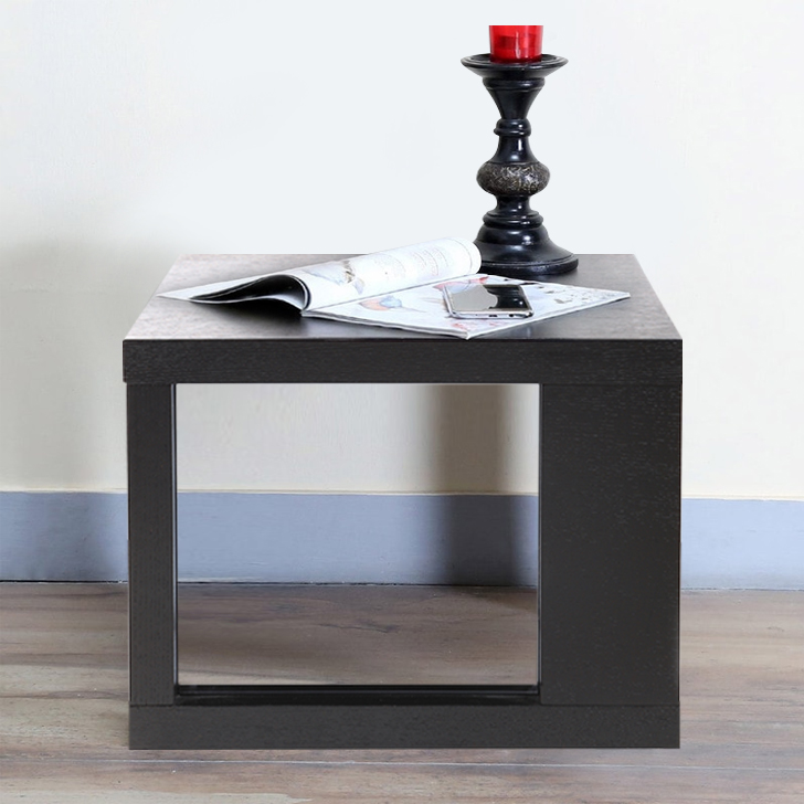 Alfe Engineered Wood End Table in Wenge Colour by HomeTown