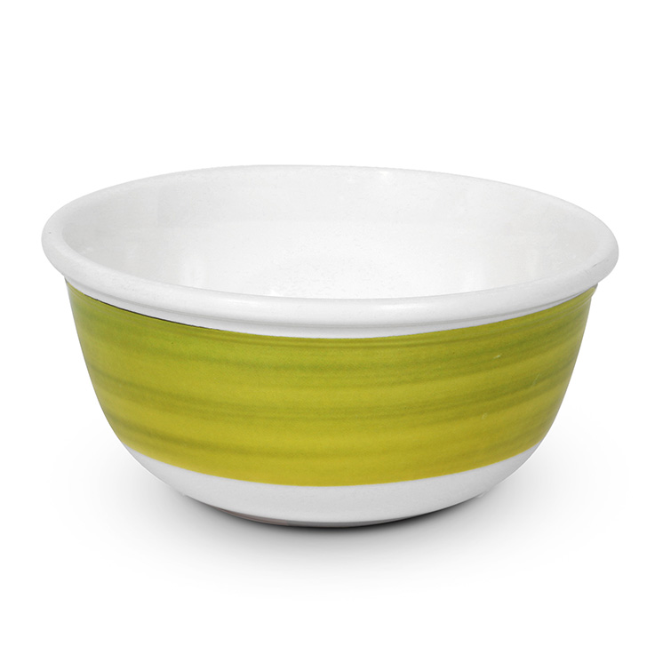 Living Essence Melamine Veg Bowl Citron