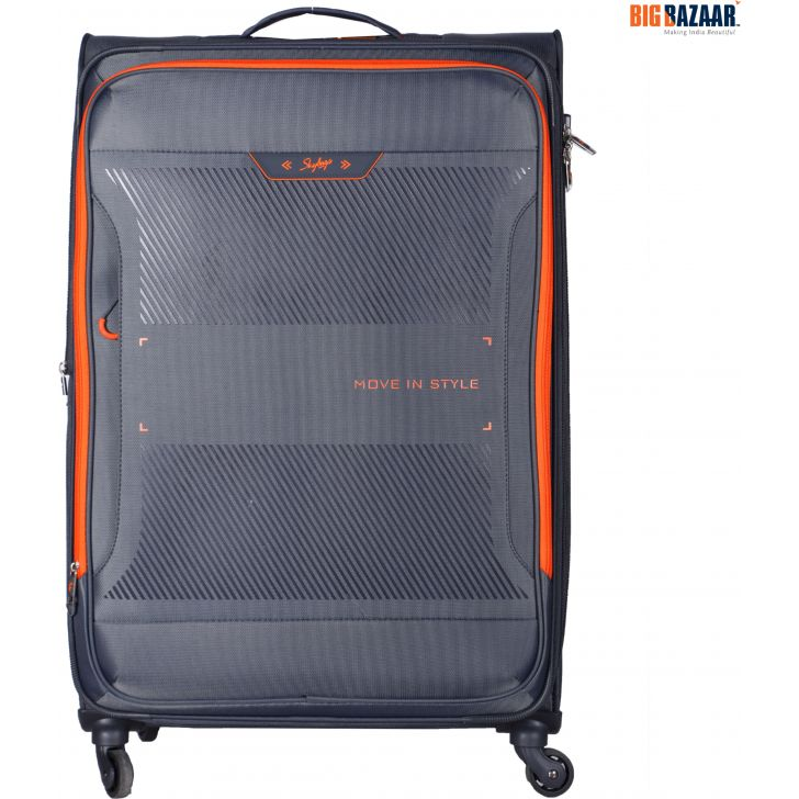 Skybags Xpanse Spinner Soft Trolley 82 cm (Grey)