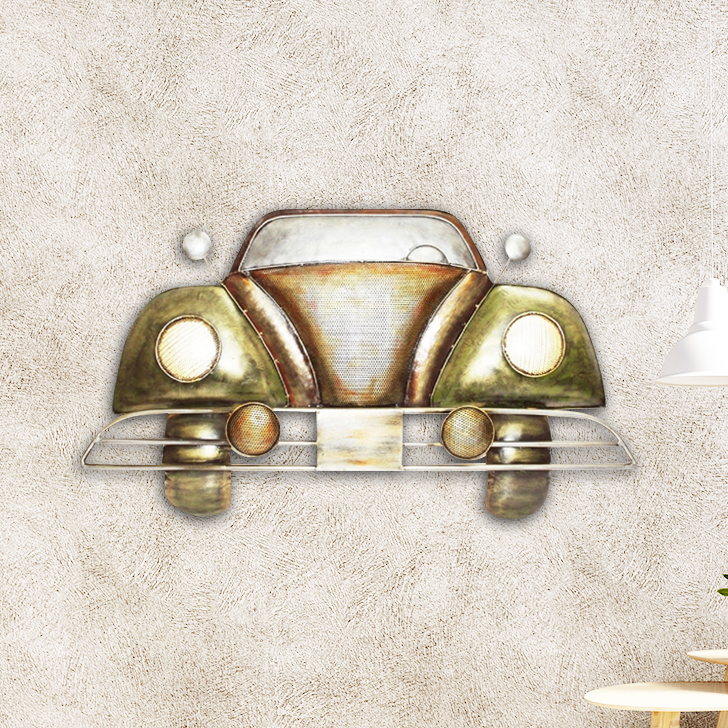 Hummer Car Wall D Iron Wall Accents in Multi Colour by Royce