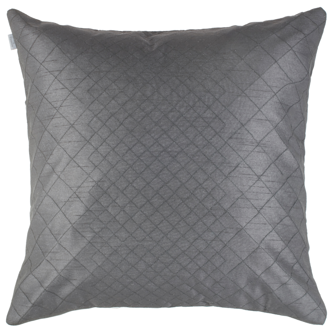 Blossom Polyester Cushion Covers in Black Colour by Living Essence