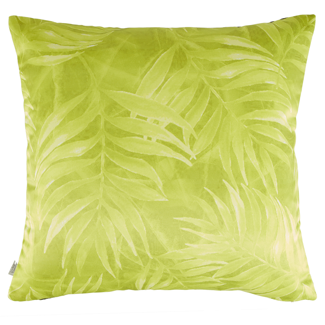 Digital Cushion Cover Vintage Flora Black Cushion Covers in Poly Satin Colour by Living Essence