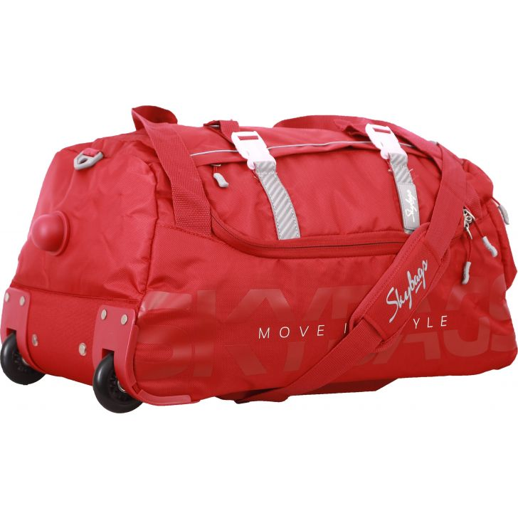 Skybags Snazzy Duffle on Wheel 65 cm (Red)