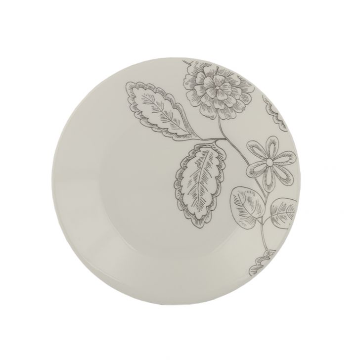 Core Dinner Plate Remini 106-Rms-Lp Glass Plates in White Colour by Corelle