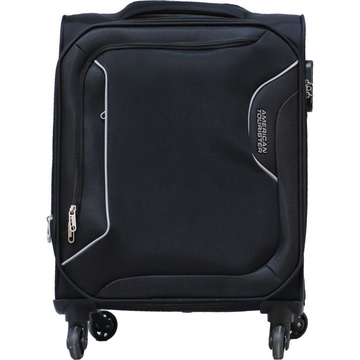 American Tourister Avalon Spinner Soft Trolley 67 cm (Black)