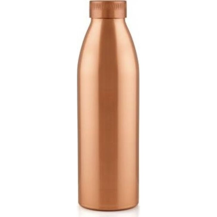800 ml Plastic Copper Water Bottle in Copper Colour by BB